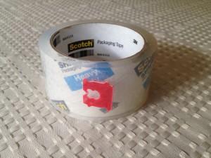 Bread clip to mark tape