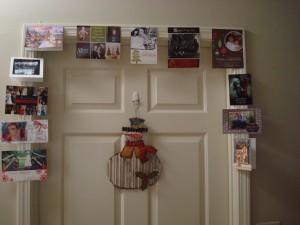 Cards Around the Door