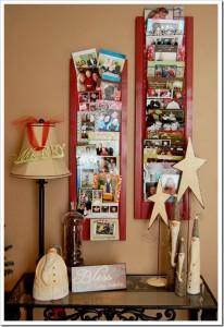 Display holiday cards