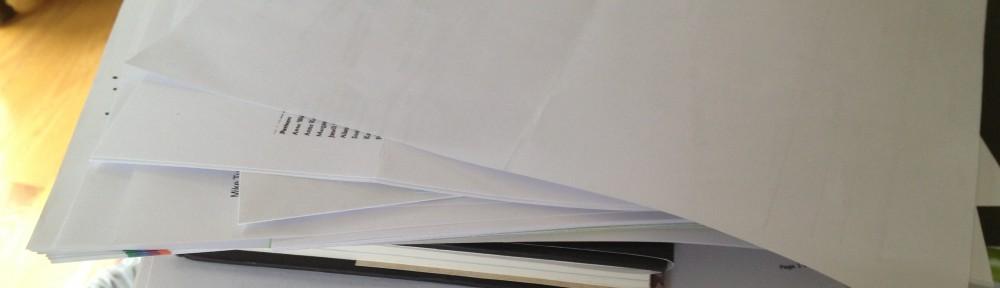 Piled Up Paperwork