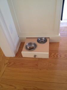 Hide a Pet Feeding Bowl