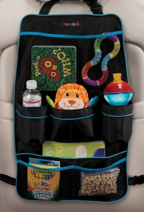 Organizer for the backseat of a car