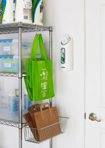 Paper Grocery Bag Storage