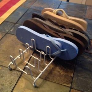 Store flip flops