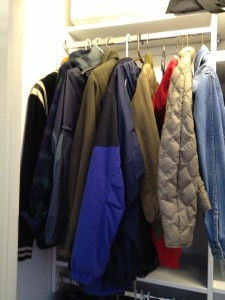 Coat Closet. There is no better time to have a look at the coat closet!