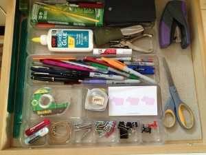"""Organizing the Junk Drawer. Time to kick it up a notch today with the """"junk"""" drawer."""