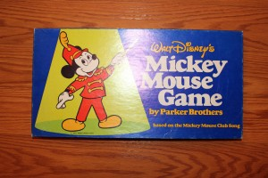 Vintage 1976 Walt Disney's Mickey Mouse Board Game by Parker Bros..Complete