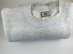 Sweatshirts. Too much clothing is a burden.