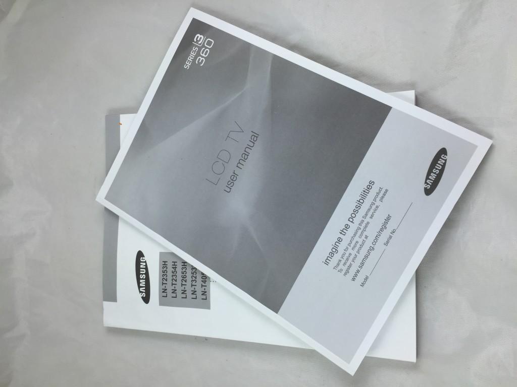 Warranties and manuals