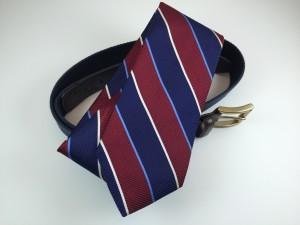 Belts and Ties. it isn't uncommon for men to accumulate a bit of clutter.