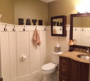Bathroom hooks
