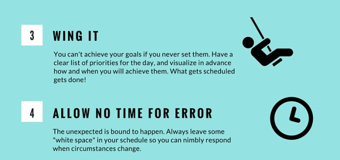 Habits that ruin a day