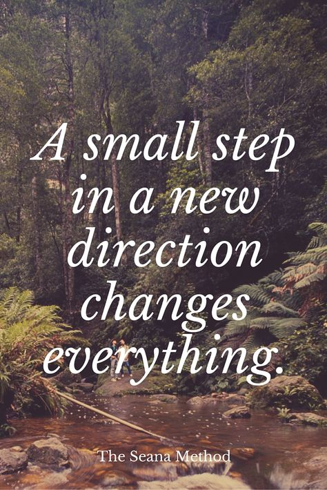 A small step changes everything.