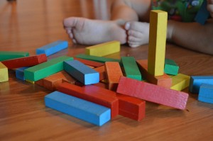 Blocks. Maintaining orderwith toddlers and preschoolers