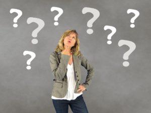 Woman deciding. Becoming a better decision maker.