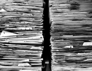 Files to delete. The focus of today's task is to delete unneeded documents.