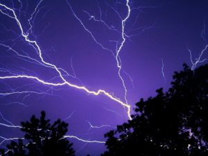 Lightning Striking Disaster