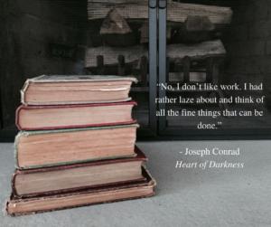 Joseph Conrad quote