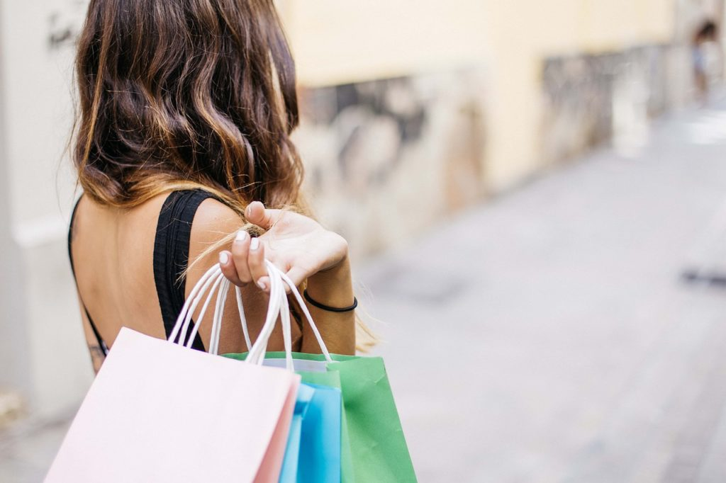 shopping and keeping