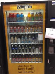out of order machine