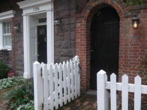 Doorway opening