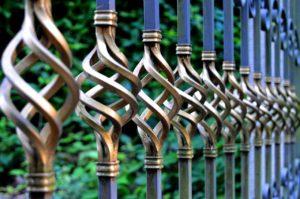 Beautiful iron railing
