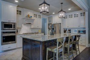 clear kitchen
