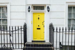 Doorway of a house