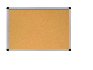 Cleared bulletin board