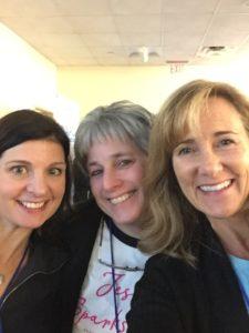 Three women at NERCPO 2019
