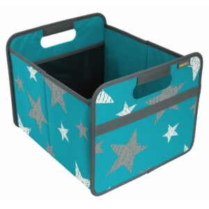 portable, foldable bin with handles