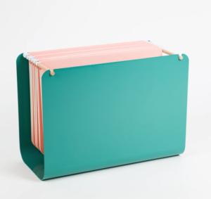 tabletop file basket