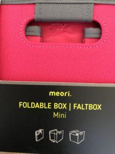 Meori Mini foldable box