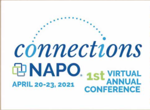 NAPO Virtual Conference Logo. A few tidbits that anyone might find interesting.