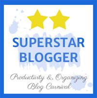 Productivity & Organizing Blog Carnival