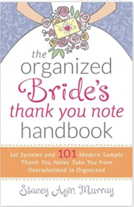 book about writing thank you notes for brides